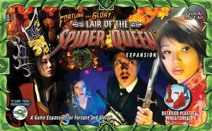 Fortune and Glory: The Cliffhanger Game - Lair of the Spider Queen